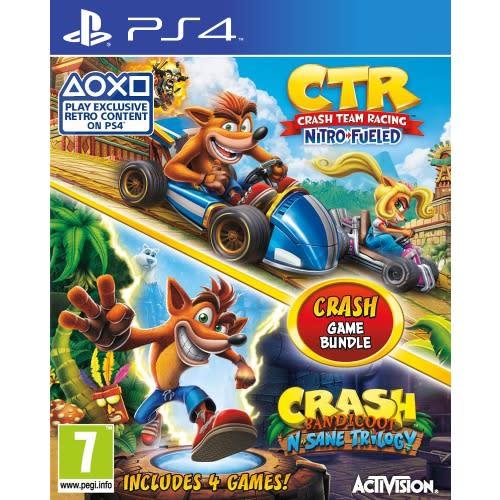 Crash bandicoot racing ps4