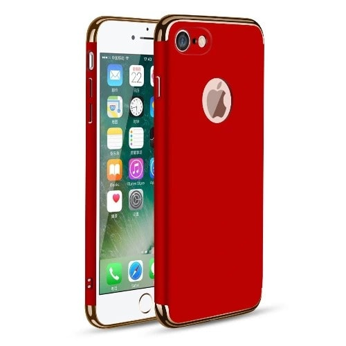 Back Cover Case For iPhone 8 Plus , Red
