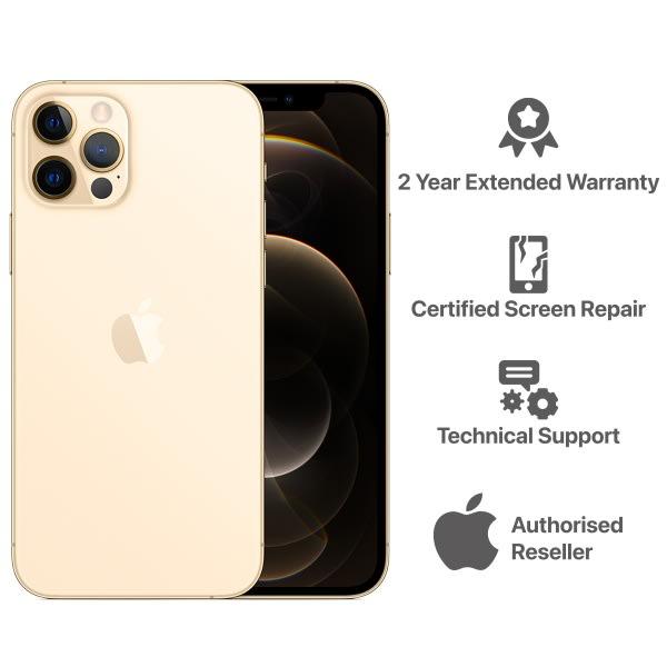 iPhone 12 Pro Max - 6GB - 128GB - Gold.