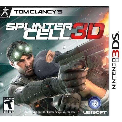 Tom Clancy's Splinter Cell 3d- Nintendo 3ds