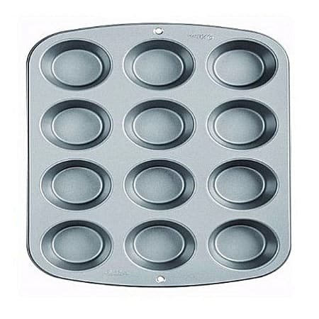 Set Of Two 12 And 6 Cupcakes Pan Mold