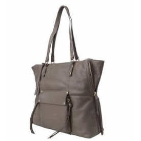 80f45a651eaa Women's Leather Tote Front Pocket With Magnetic Closure Bag