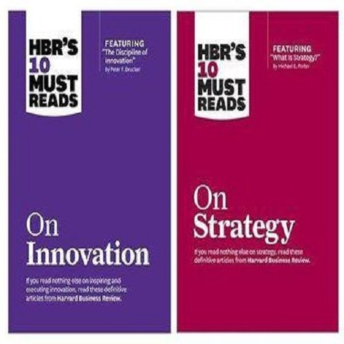Harvard Business Review On Innovation + Strategy Book Bundle