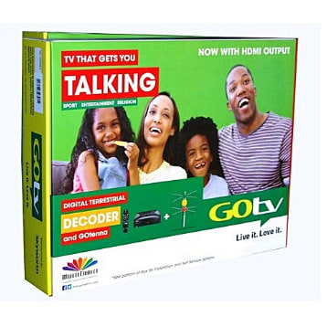 Gotv Decoder Antenna With One Month Subscription