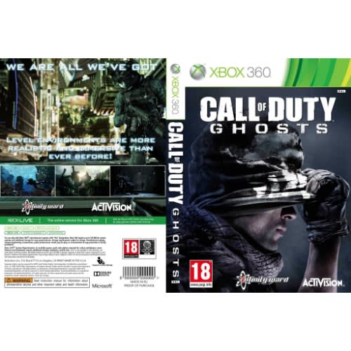 Microsoft Call Of Duty Ghost Xbox 360 Game Pal Konga Online Shopping