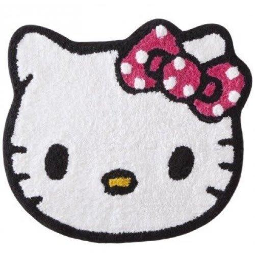 """Hello Kitty """"Dots"""" Bedroom & Bathroom Rug"""