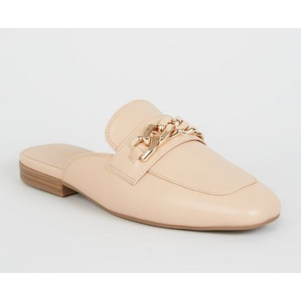 8873e6c8a2c62 New Look Pink Chain Strap Loafer Mules | Konga Online Shopping