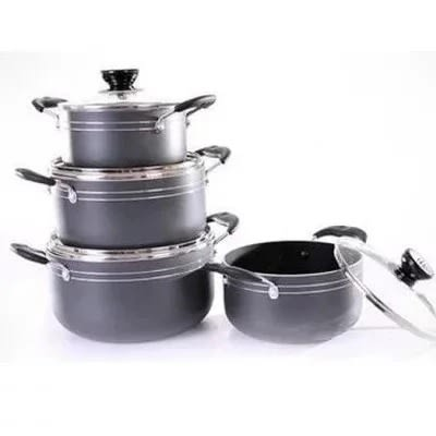 Ultimate Apparel Set Of 4 Non Stick Pot
