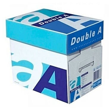 Double A A4 Paper –5 Bundle One (1) Carton (500 pages each pack x 5)