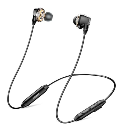 a756108cad3 Baseus Encok S10 Wireless Bluetooth Earphone Dual Dynamic Stereo ...