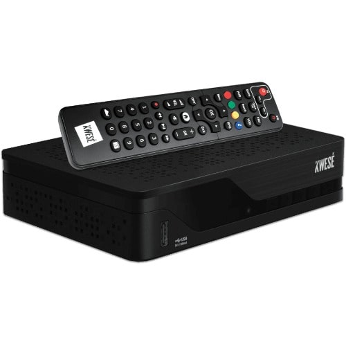 Kwese TV, - Combo Decoder - Satellite Dish Plus One Month Subscription