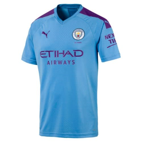 new product c28df 20631 Manchester City 2019/2020 Home Jersey