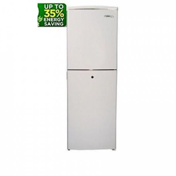 Haier Thermocool TMount 2Door DCool HRF160EX (145L)Refrigerator - Silver.