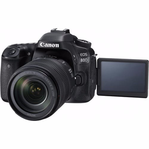 EOS 80D DSLR Camera Kit with 18-135mm IS Lens
