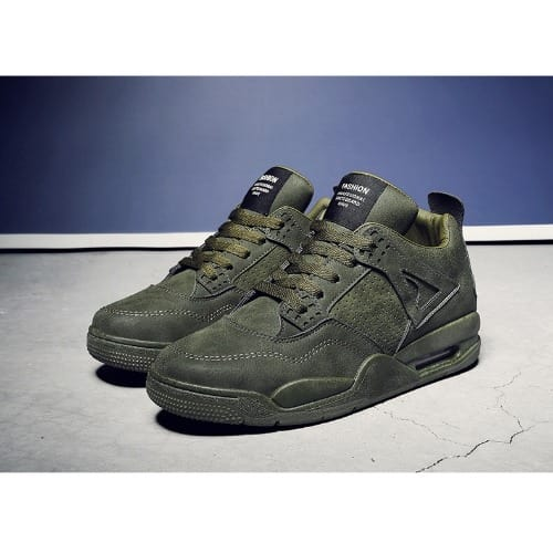 uk availability cheap sale quality products Fashion By LV Sports Premium Sneakers - Army Green   Konga Online ...