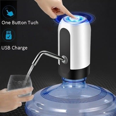 Rechargeable Dispenser Bottle Pump