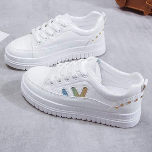 newest 67eee e8276 White Female Sneakers