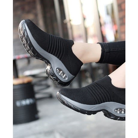 HZB Cushion Walking Sock Sneakers