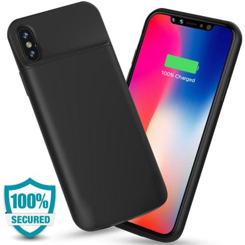 get cheap 78f10 44e70 Rechargeable iPhone X Battery Case - 6000 mAh   Konga Online Shopping