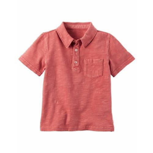 Pique Polo - Pink