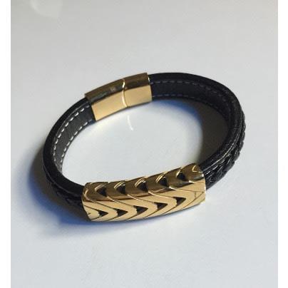 d1f232a08 N & G Men's Leather Link Bracelet   Konga Online Shopping