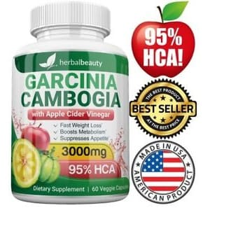 Garcinia Cambogia 95 Apple Cider Vinegar