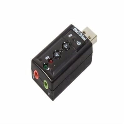 USB Sound Adapter 7.1