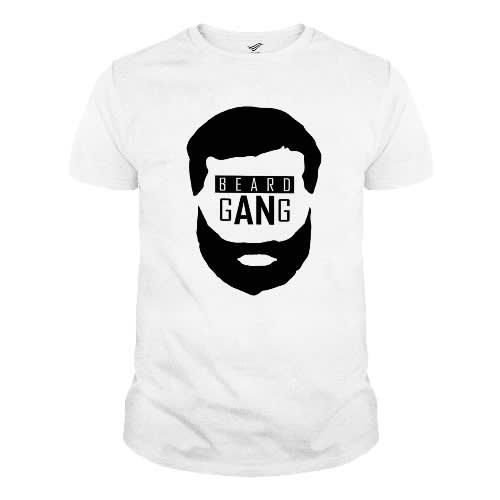 6069ed5b0 Beard Gang T-shirt - White And Black | Konga Online Shopping