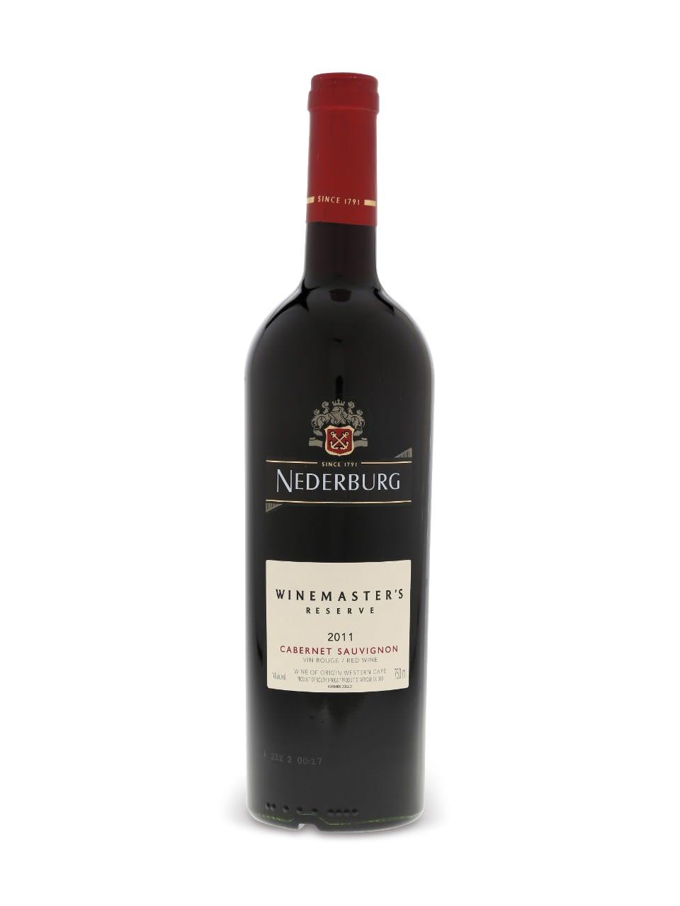 Nederburg Cabernet Sauvignon Red Wine 75cl, 14.5% acl. (Single Bottle).