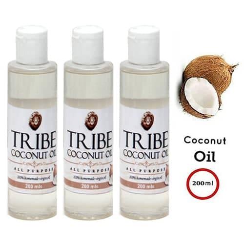 100% Natural Homemade Virgin Oil - (Pack Of 3) - 200ml