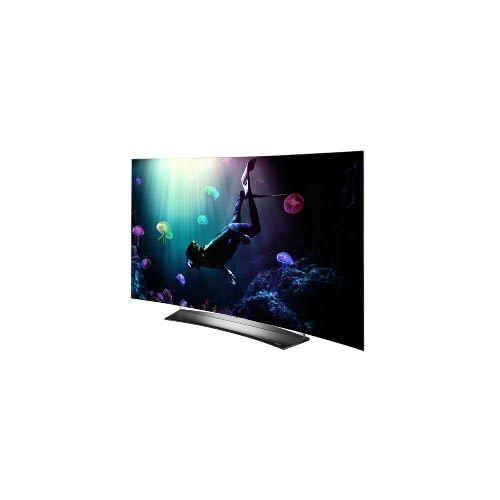 """OLED 55"""" Curved 4k UltraHD 3D Smart TV - Class C6 With Set of 2 3D Glasses"""