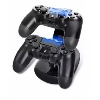 Dual Port Charger For Ps4 Game Pad