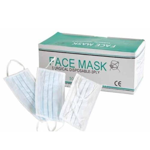 disposable ear loop face masks