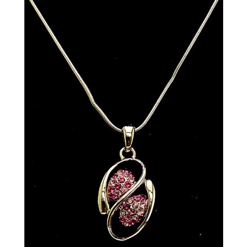 /E/a/Earring-Necklace-Set-With-Pink-Crystal-Pendant-4126385_7.jpg