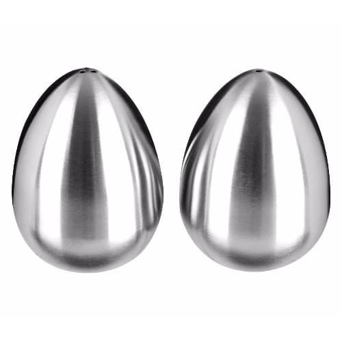 Egg Shaped Stainless Steel Salt Pepper Shaker Konga Online Shopping