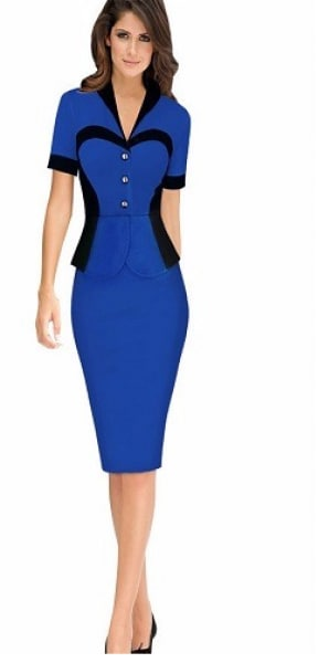 /E/l/Elegant-Non-Two-Piece-Short-Sleeve-Office-Dress-Blue--4658653_1.png