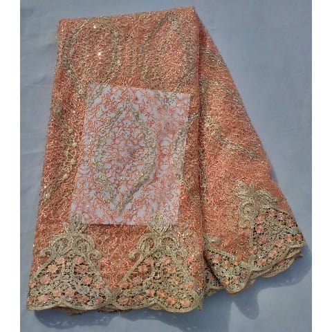/E/m/Embroidered-Bedazzled-Swiss-Voile-Lace---Peach-Gold-Details---5-Yards-8067576.jpg