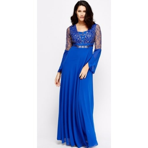 /E/m/Embroidered-Lace-Contrast-Outfit-For-Ladies---Blue-7723138_2.jpg
