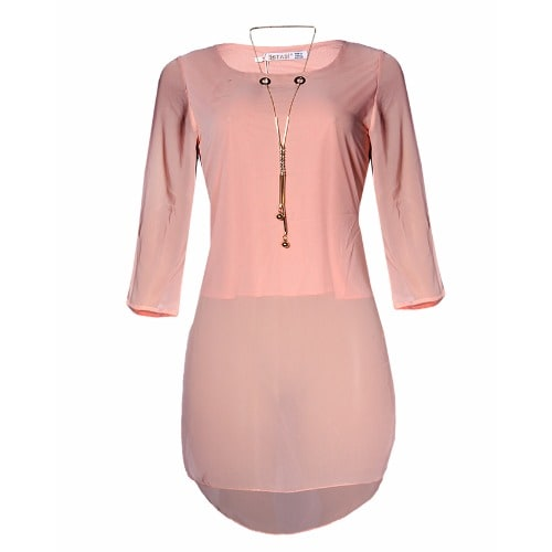 /E/s/Estasi-3-4-Sleevele-Chiffon-Dress-Top-with-Matching-Necklace--Peach-6841967_1.jpg