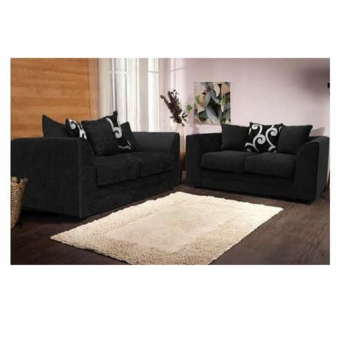 Wondrous Exclusive 7 Seater Sofa Set Black Gmtry Best Dining Table And Chair Ideas Images Gmtryco