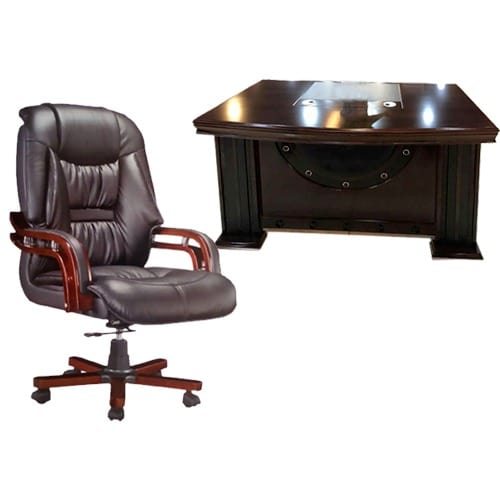 Executive Office Desk Chair Brown