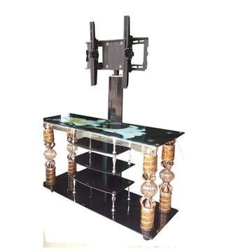 finest selection c7d46 f74c6 Exotic Tempered Glass TV Cabinet & Stand