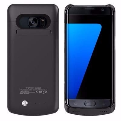 online store e8323 e4173 External Battery Case For Samsung Galaxy S7 Edge - 5200mAh