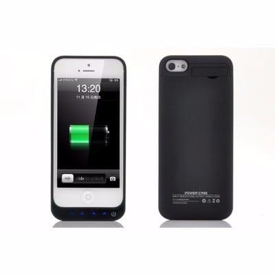 timeless design bb8c0 2c690 External Battery Case For iPhone 5, 5S & 5C - 2800mAh