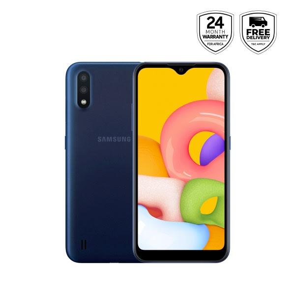 Galaxy A01 - Blue- 16gb Rom +2gb Ram, 13mp, Dual Sim.