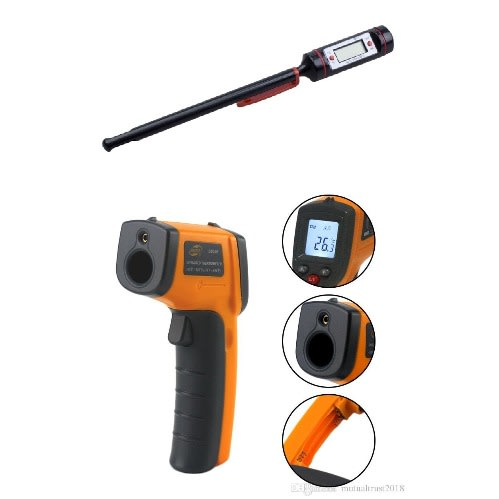 Digital Kitchen Industrial Infrared Thermometer And Meat Thermometer Konga Online Shopping