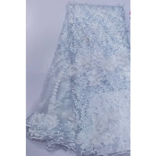Netcord Lace - White - 5 Yards