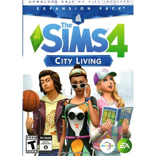 The Sims 4: City Living Origin Key - Regional Free - Online Multiplayer