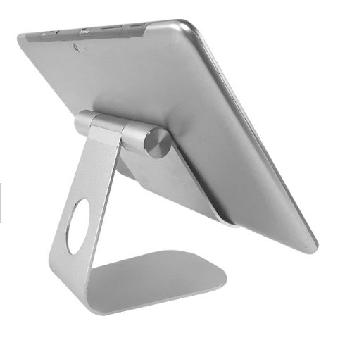 Foldable Pivot Aluminium Desktop Tablet Holder