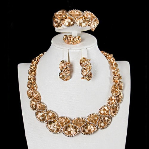 Women's Jewelry Set - Gold | Konga Online Shopping